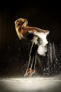 """Powder Dance,"" by German photographer Geraldine Lamanna."