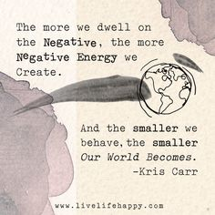 The more we dwell