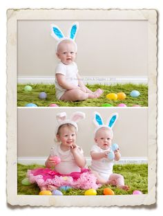 Easter Photo idea. I love this!!
