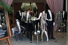 Brooks Brothers produced all the men's costumes in Baz Lurmann's film adaptation of The Great Gatsby. See the collection at 468 Rodeo Drive.