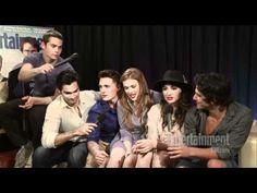 [Comic-Con 2011] Teen Wolf Interview EW.com