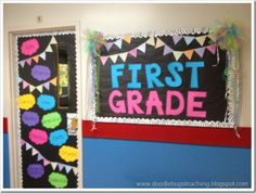 Back to School Bulletin  Board and Door