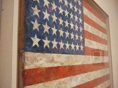 Jasper Johns Flag 1954 MOMA