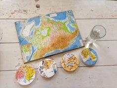 Vintage Japanese Maps + Coasters = Awesomeness — Coastermatic