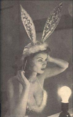 rabbit, irish mccalla, vintag, bunni ear, ears, bunni girl, beauti, pinup, showtim