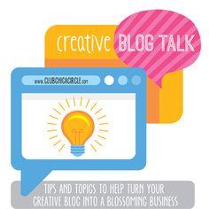 Creative Blog Talk Series - Setting Mind Blowing Blog Goals!