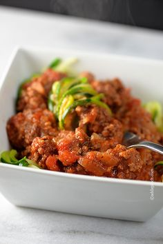 Spaghetti Sauce Recipe from addapinch.com