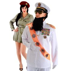 Dictator & Virgin Guard Couples Costume