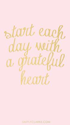 Gratefulness.