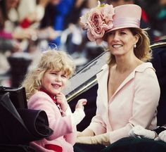 Lady Louise Windsor and her mom The Countess of Wessex