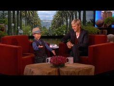 Adorable 4-Year-Old Kai Meets Ellen