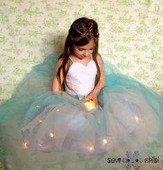 Light up Princess Dress, imagine wearing it at night outside!!!!!!!!!!!!!