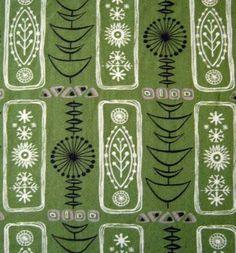 50's Vintage Fabric. @Deidré Wallace