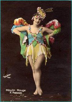 Moulin Rouge postcard