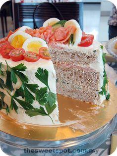 Smörgåstårta, a Swedish Sandwich Cake