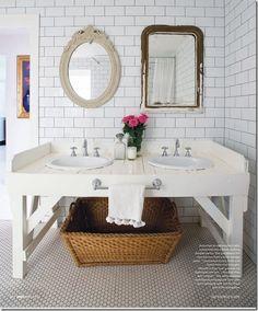 spiro subway tile bathroom