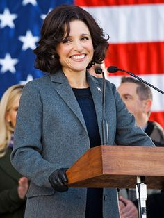 All Julia Louis-Dreyfus' accidental President wants is a little respect, or at least a place to curse in peace.