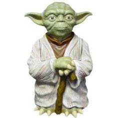 Star Wars yoda   full body cookie jar
