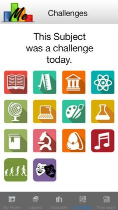 DatalyzeMe ($0.00) The Datalyzeme App is for students who want to take control of their own learning and time! Use the app to find out how you learn and how to strengthen your weaknesses. You can also use the app to track how you spend your time graphically and even share with friends!