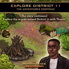 Strong. Quiet. Brave. Honorable. Just a few words to describe Thresh. Meet him in District 11 and decide for yourself! Play The Hunger Games Adventures!