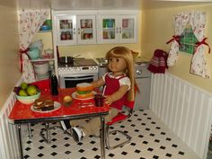 Doll House Kitchen view 1