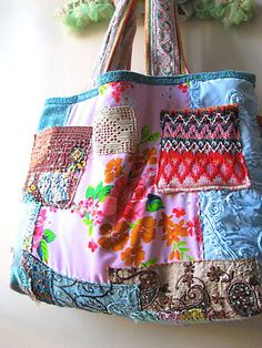 Large shopping bag by AllThingsPretty, via Flickr
