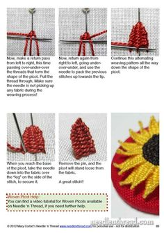 Mary Corbet's Needle 'n Thread — Lavender Honey & Other Little Things - another sample page from the ebook...