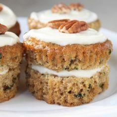Zucchini Bread Cupcakes