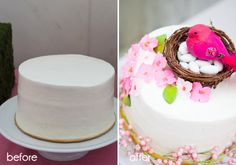 DIY: Cakes on a Budget - #party #DIY #cake
