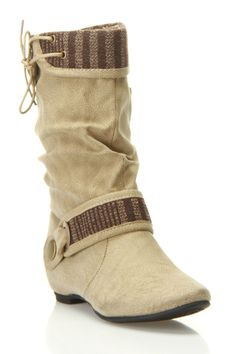blossom Amar-27 Boot In Taupe