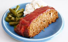 Family-Style Meatloaf with Comforting Cream Cheese Mashed Potatoes by ezrapoundcake: Sometimes you just need something comforting and straight forward. #Meatloaf #Mashed_Potatoes #ezrapoundcake