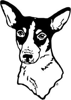 rat terrier clip art