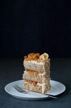 Banana Pineapple Cake by  hungryrabbit #Cake #Banana #Pineapple