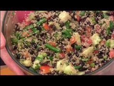How to Make Quinoa Black Bean Salad