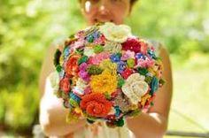 picture crochet bouquet
