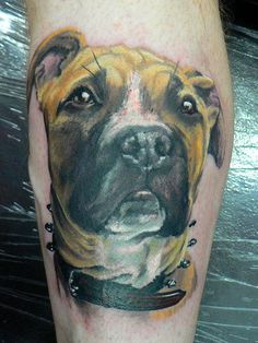 Dog by Red Dog Tattoo, via Flickr