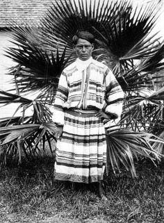 Seminole Indian, 1917
