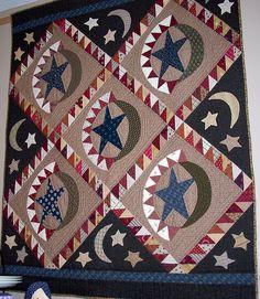 Jan Patek's Gorgeous Patriotic quilt pattern.