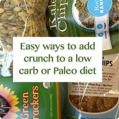 6 Ways To Add Crunch to Your Low Carb Diet