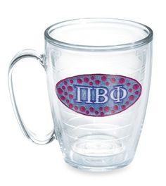 Pi Phi glass #piphi #pibetaphi