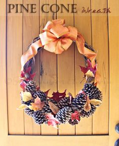 This is a nice website to find DIY, autumn wreath ideas.