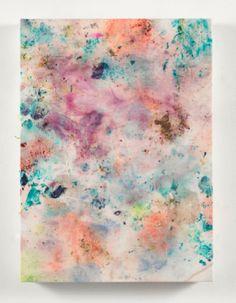 gagossian galleri, dye color, art board, 2012 flower, inspir, belgian linen, flowers, art silent, dan colen