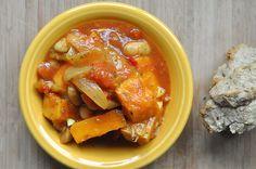 Roasted Sweet Potato Stew (never homemaker)