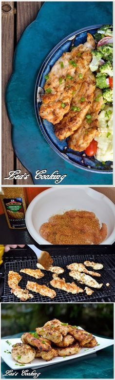 Leas Cooking: Delicious BBQ Grilled Chicken Tenderloins #BBQ #Barbeque #Grills #BBQRecipe #BBQAprons
