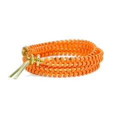 helloberry Triple Wrap bracelet in Peach. Available in 12 colors! Perfect for summer. $23