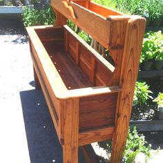 wood project garden planter?