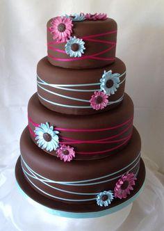gerber daisies, bright gerbera, daisi cake, color, gerbera daisi, wedding cakes, white cakes, funki bright, birthday cakes