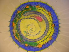Mandala Process from Southwestern College student coursework.