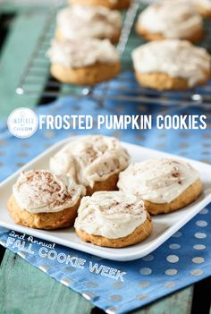Melt-in-your-Mouth Pumpkin Cookies!