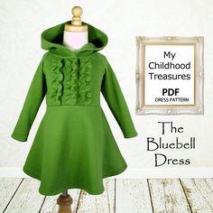 girls sewing patterns | sewing pattern PDF, Girls dress pattern, Children Kids, baby sewing ...